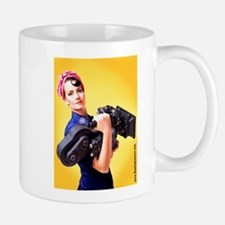 Rosie the Camera Woman Mugs