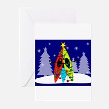 Unique Sports christmas Greeting Cards (Pk of 10)