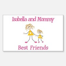 Isabella & Mommy - Friends Rectangle Decal