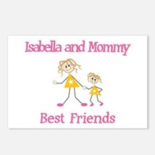 Isabella & Mommy - Friends Postcards (Package of 8