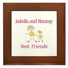 Isabella & Mommy - Friends Framed Tile