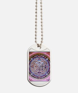 Cute Witch pentacle Dog Tags