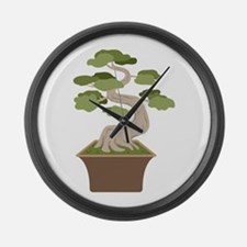 Bonsai Tree Large Wall Clock