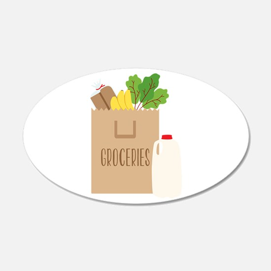 Groceries Wall Decal