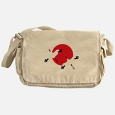 Flying Crane Messenger Bag