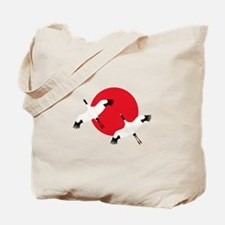 Flying Crane Tote Bag