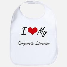I love my Corporate Librarian Bib