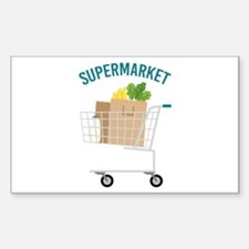 Supermarket Decal