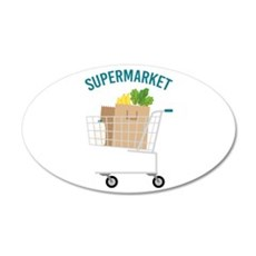 Supermarket Wall Decal