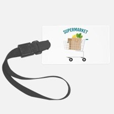Supermarket Luggage Tag