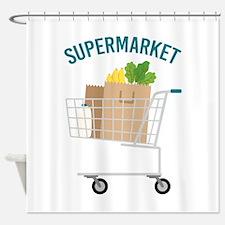 Supermarket Shower Curtain