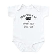 Property of a Hospital Doctor Infant Bodysuit