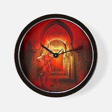 Cute Satanism Wall Clock