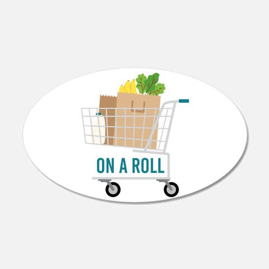 On A Roll Wall Decal