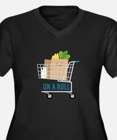 On A Roll Plus Size T-Shirt