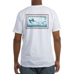 US Coast Guard Fitted T-Shirt 1945 US Stamp