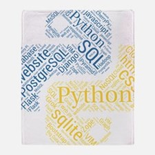 Unique Developer Throw Blanket