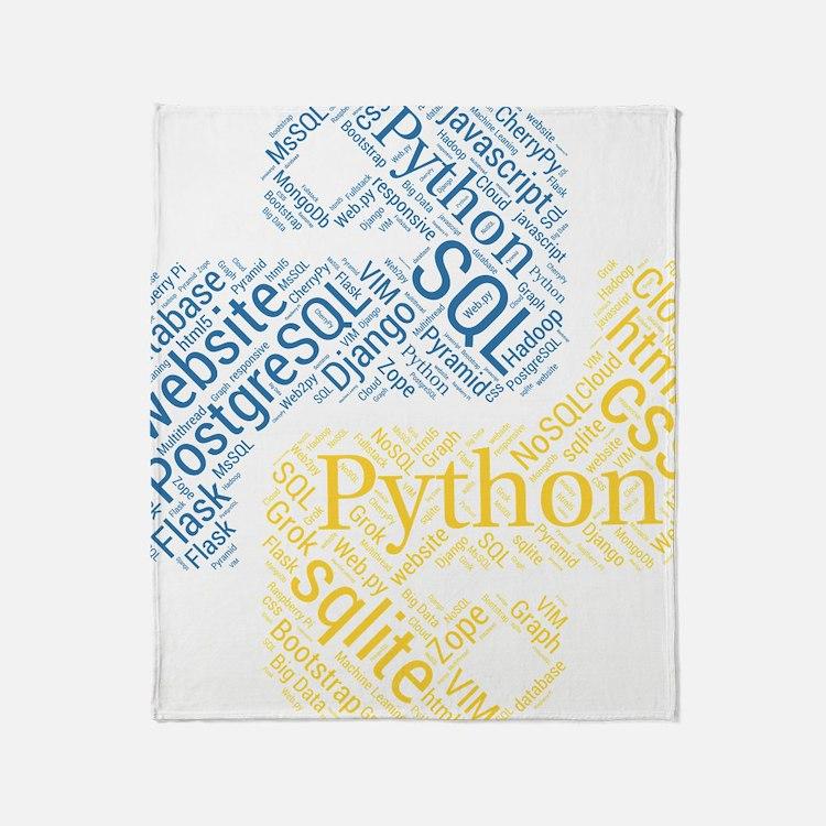 Cute Software Throw Blanket