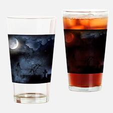 Funny Satanism Drinking Glass