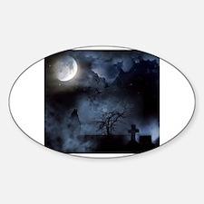 Satanism Sticker (Oval)