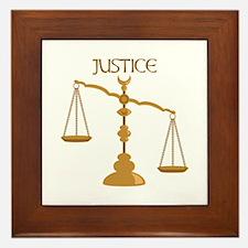 Justice Framed Tile
