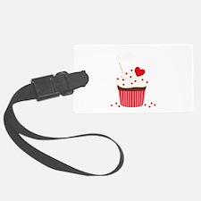 Valentine Cupcake Luggage Tag