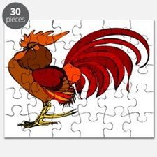 Unique Birds rooster Puzzle