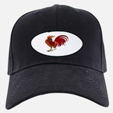 Cute Birds rooster Baseball Hat