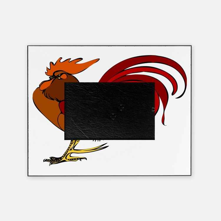 Cute Birds rooster Picture Frame