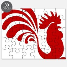 Funny Birds rooster Puzzle