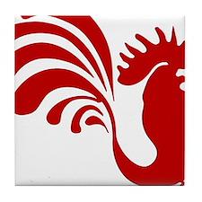 Unique Rooster Tile Coaster