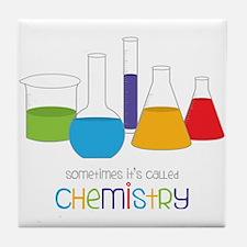 Called Chemistry Tile Coaster
