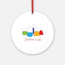 Science Lab Round Ornament