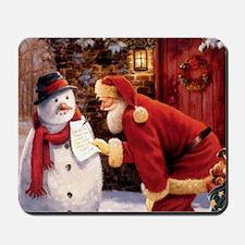 Santa Reading Note Mousepad