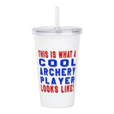 Archery martial arts p Acrylic Double-wall Tumbler
