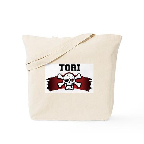 tori is a pirate Tote Bag