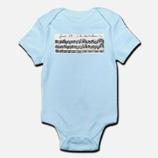 Bach's Brandenburg 6 Concerto Body Suit