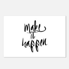 Make It Happen Postcards (Package of 8)
