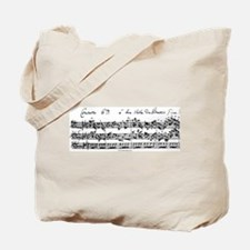 Bach's Brandenburg 6 Concerto Tote Bag