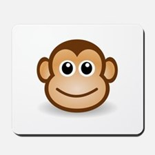 Smiling Monkey Face Mousepad
