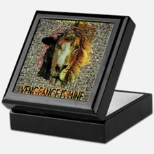 VENGEANCE IS MINE Keepsake Box