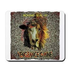 VENGEANCE IS MINE Mousepad