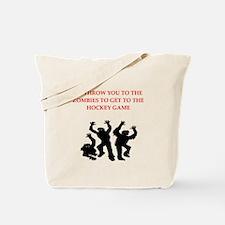 hockey Tote Bag
