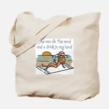 Drink In My Hand Tote Bag