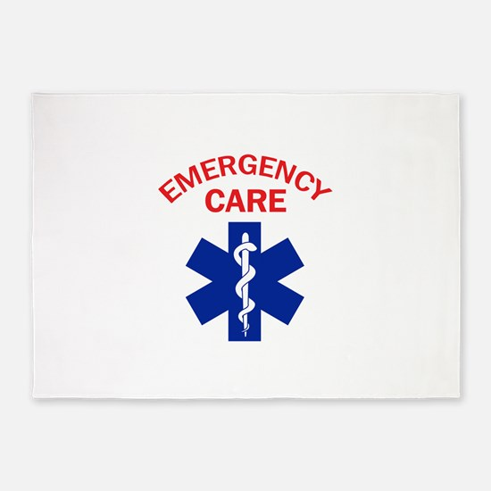 Emergency Care 5'x7'Area Rug