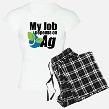My Job Depends on Ag Logo Pajamas