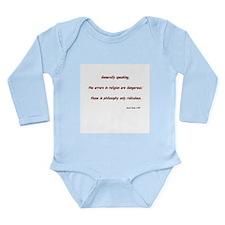 Christian liberal Long Sleeve Infant Bodysuit