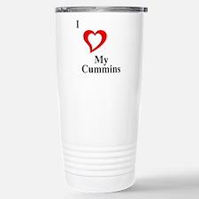 I Love My Cummins Travel Mug
