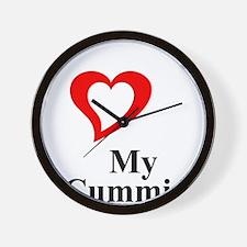 I Love My Cummins Wall Clock