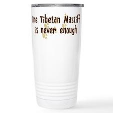 Cute Tibetan mastiff Travel Mug